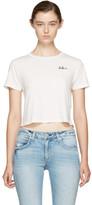 Amo White Cropped babe T-shirt