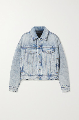 Alexander Wang Padded Denim Jacket - Light denim