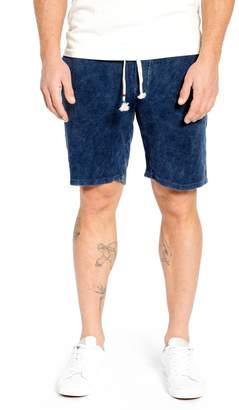 Sol Angeles Mineral Wash Corduroy Drawstring Shorts