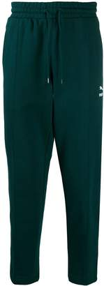 tapered track trousers