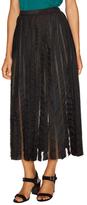 Tracy Reese Midi Flared Skirt