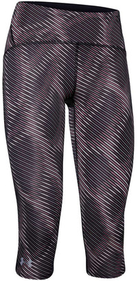 Under Armour Womens Fly Fast Printed Capri Tights Print