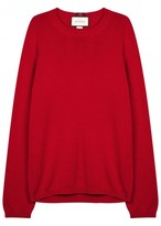 Gucci Red Cotton Jumper