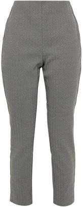 Rag & Bone Simone Cropped Herringbone Knitted Skinny Pants