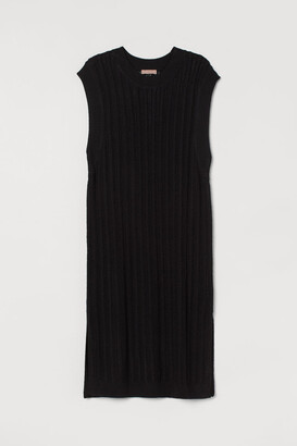 H&M H&M+ Pointelle-knit dress