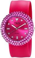 TKO ORLOGI Women's TK613FS Crystal Slap Watch