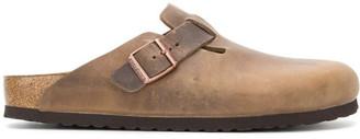 Birkenstock Boston Leather Slippers