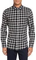 Slate & Stone Men's Trim Fit Plaid Flannel Sport Shirt
