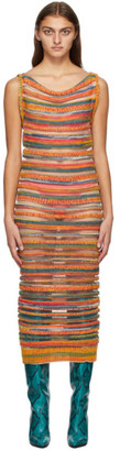 Louise Lyngh Bjerregaard Multicolor Wool Knit Dress