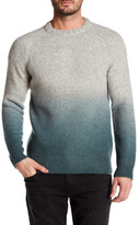 J Brand Haze Dip Dye Wool Blend Crew Neck Sweater