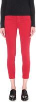J Brand Anja turn-up skinny jeans