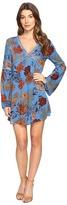 Brigitte Bailey Bethy Long Sleeve Printed Dress