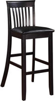Asstd National Brand Wright Upholstered Barstool with Mission Back