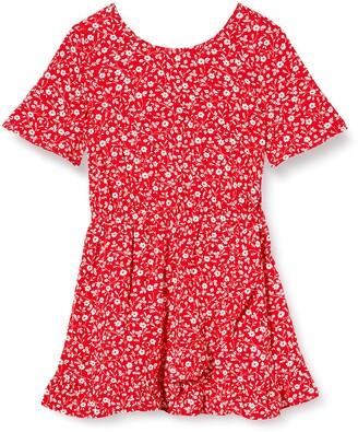 Tommy Hilfiger Girl's Floral Tea Dress S/S