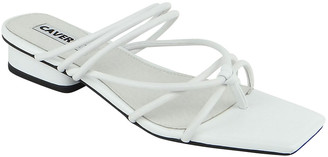 CAVERLEY Tori Strap Slide Thong Sandals