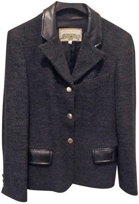 Krizia Grey Wool Jacket for Women