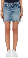 Frame Women's Nouveau Le Mini Mix Denim Skirt