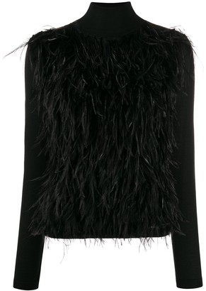 Giambattista Valli Roll-Neck Embroidered Jumper