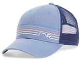 Vineyard Vines Men's Whaleine Trucker Cap - Blue
