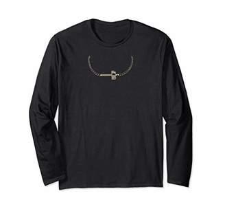 Christian Witness Jesus Cross Christian Faith Women Teens Long Sleeve T-Shirt