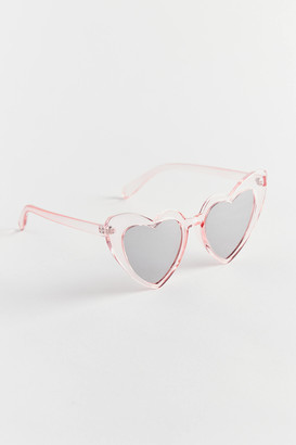 Urban Outfitters Alicia Oversized Heart Sunglasses