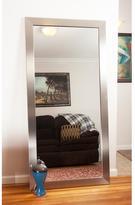 66 in. x 32 in. Modern Silver Framed Mirror