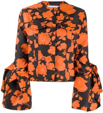 Marques Almeida Floral Print Jacket