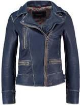 Oakwood Leather jacket denim