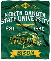 Dakota North State University Raschel Throw