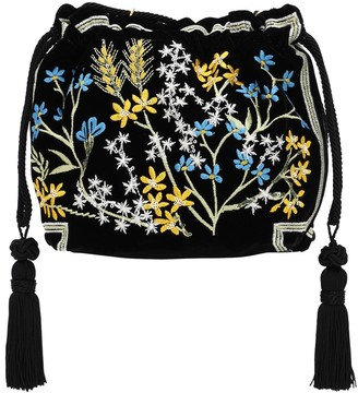 Etro Embellished Jacquard Clutch