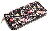 Riah Fashion Floral-Fashion Zipper Wallet