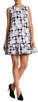 Cynthia Rowley Daisy Print Drop Waist Dress