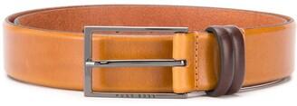 BOSS Gradient-Effect Leather Belt