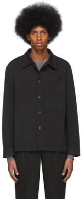 Barena Black Cedrone Over Shirt
