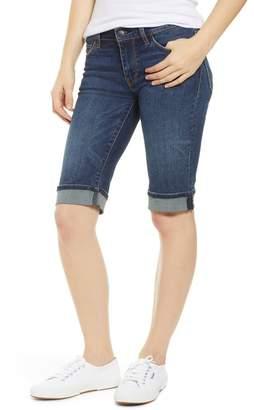 Hudson Jeans Amelia Rolled Knee Shorts