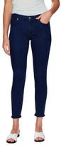 7 For All Mankind Faded Ankle Skinny Jeans