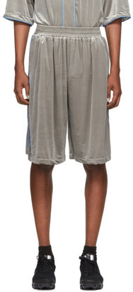 Landlord Silver Jersey Baseball Shorts