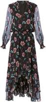 Exclusive for Intermix Vera High-Low Floral-Printed Dress Pri-Floral 2 ZERO