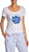 Tommy Bahama Sunset Scenic Embroidered T-Shirt