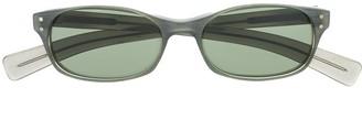 Dolce & Gabbana Pre-Owned 2000s Rectangular-Frame Sunglasses