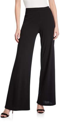 Natori Matte Jersey Easy Wide-Leg Pants