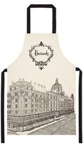 Harrods Building Sketch Apron