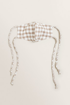Seed Heritage Gingham Tie Face Mask