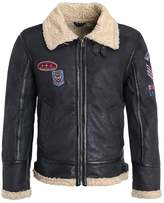 Gipsy Air Force R17 Leather Jacket Schwarz