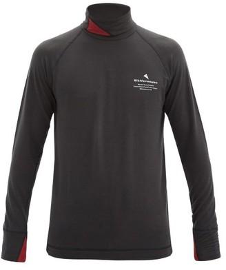 Klättermusen Klattermusen - Fafne Roll-neck Thermal Lyocell-jersey T-shirt - Black