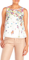Yumi Floral Print Woven Top