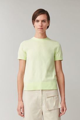 Cos Knitted Cotton Top