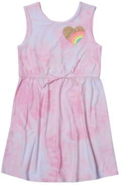 Epic Threads Toddler Girls Cinched Tie Waist Tank Top Dress