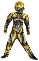 Disguise Boys' Transformers Bumblebee Classic Muscle Child Costume