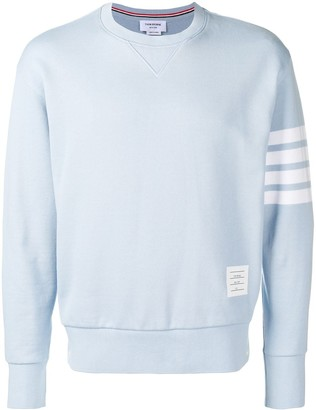 Thom Browne Engineered 4-Bar Loopback Sweatshirt